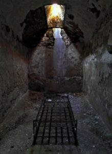 Cell at Eastern State Penetentiary