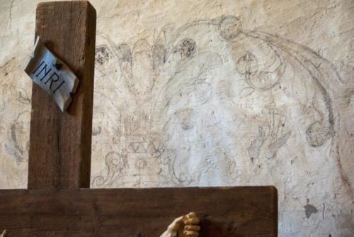 Gridded Fresco and Cross